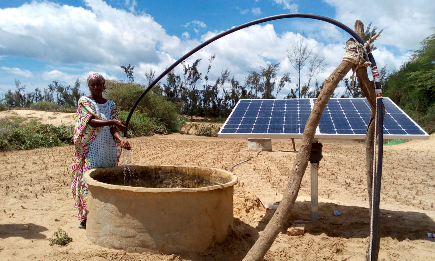The market gardening entrepreneur modernising rural agriculture, with the help of solar power