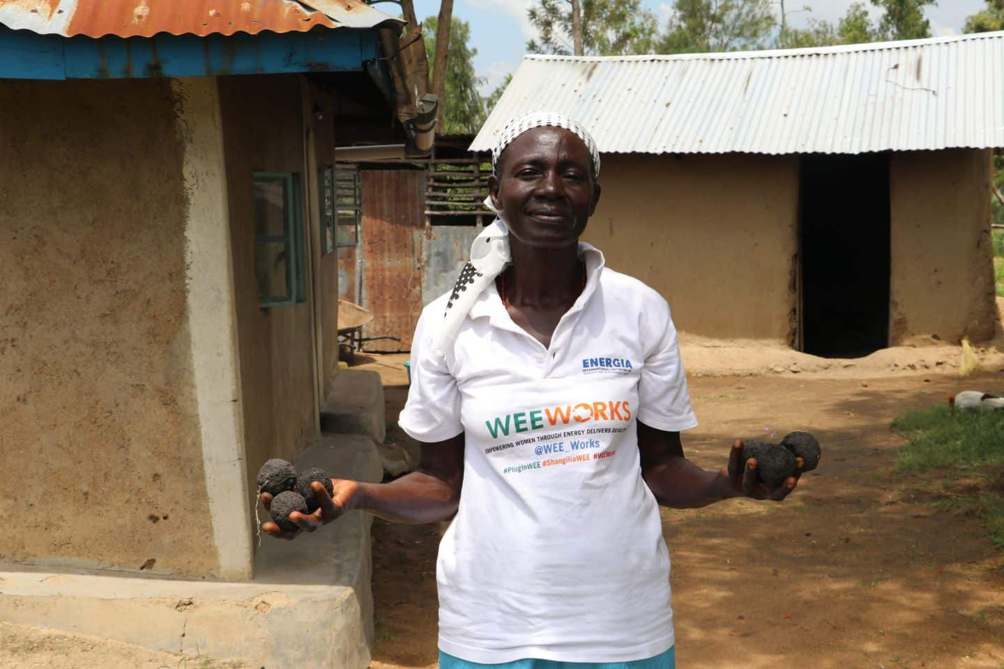 "Millicent Akinyi Dula: ""I want to be the first woman to set-up a briquette production centre in my village"""
