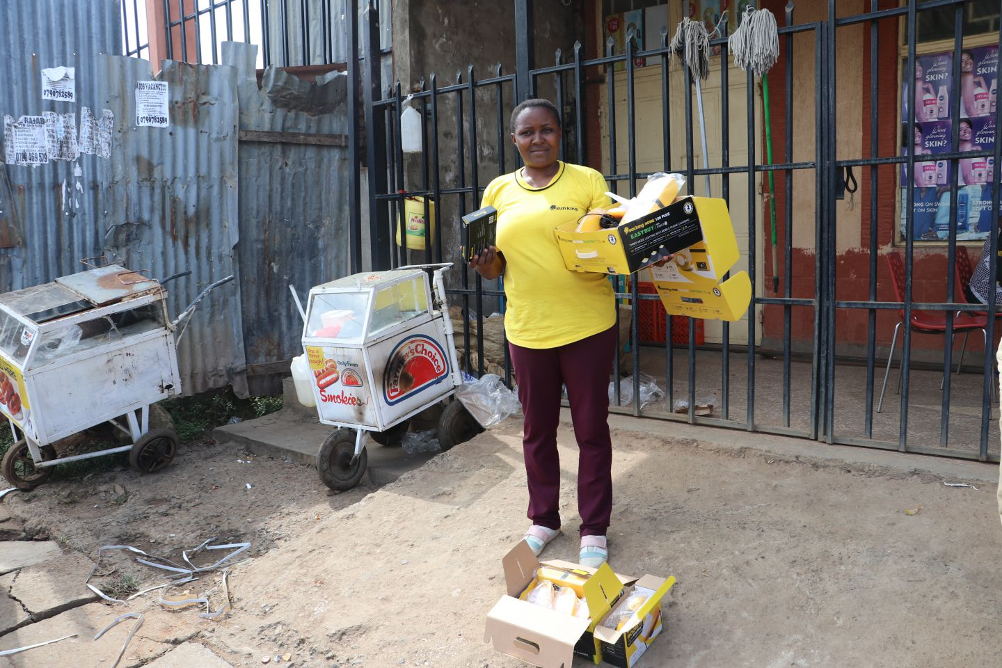 I am proof that women too can excel in solar installations