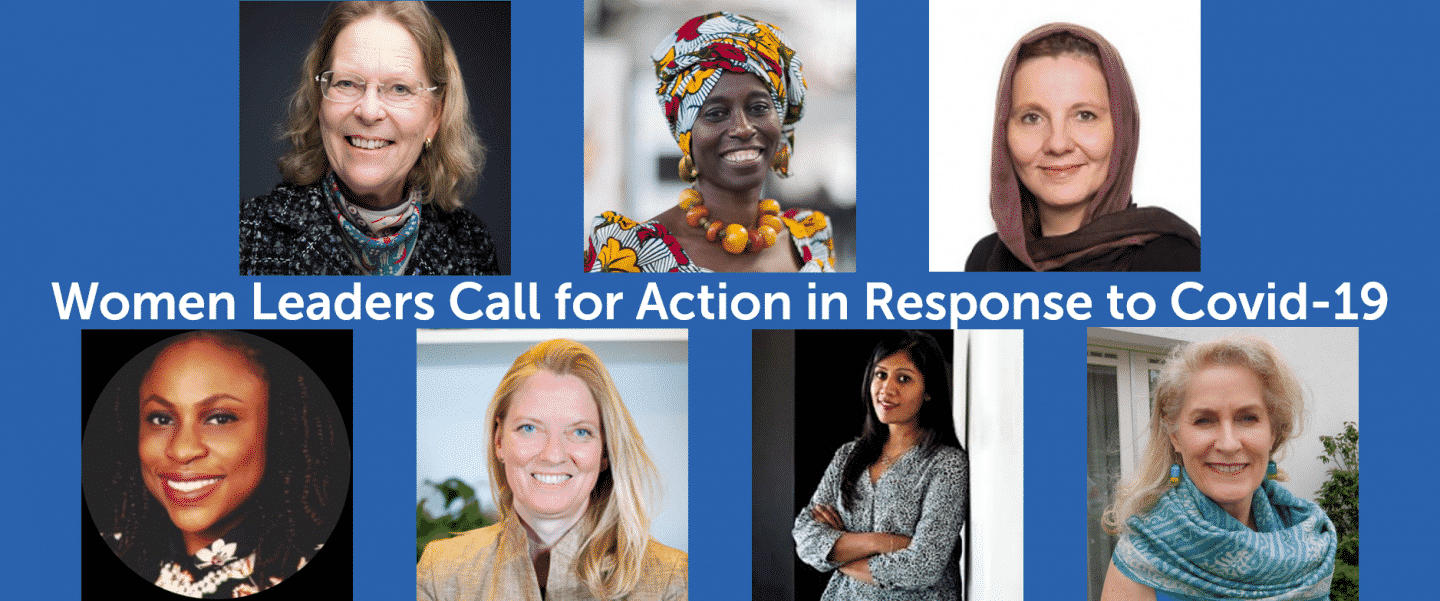 Women leaders call for action in response to COVID-19: Opening opportunities for gender equality in the transition to sustainable energy