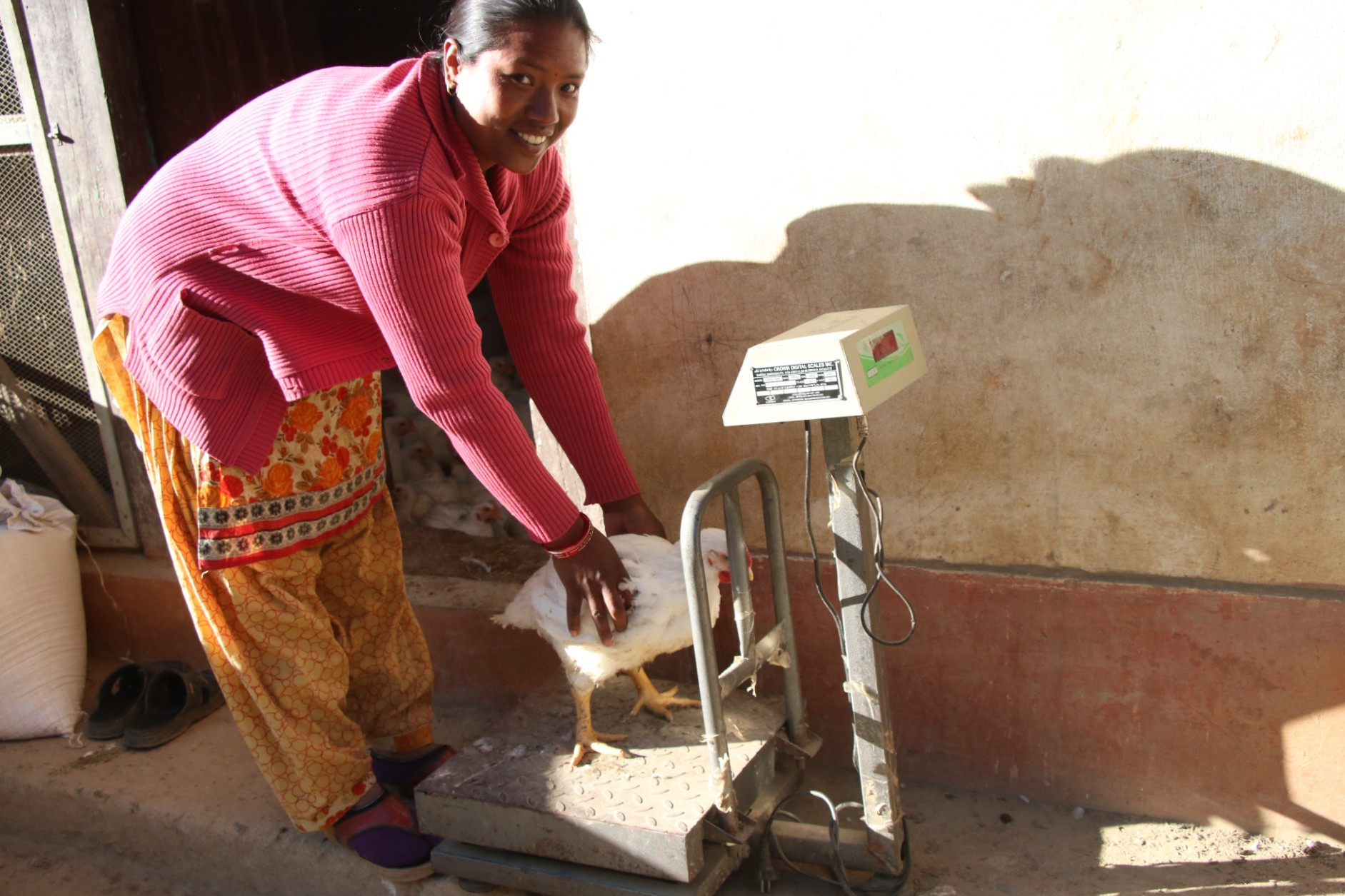 Sanu Maya's entrepreneurship skills helped her to keep her business running