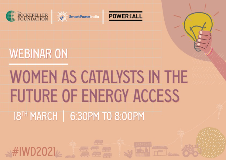 Webinar: Women as Catalysts in the Future of Energy Access