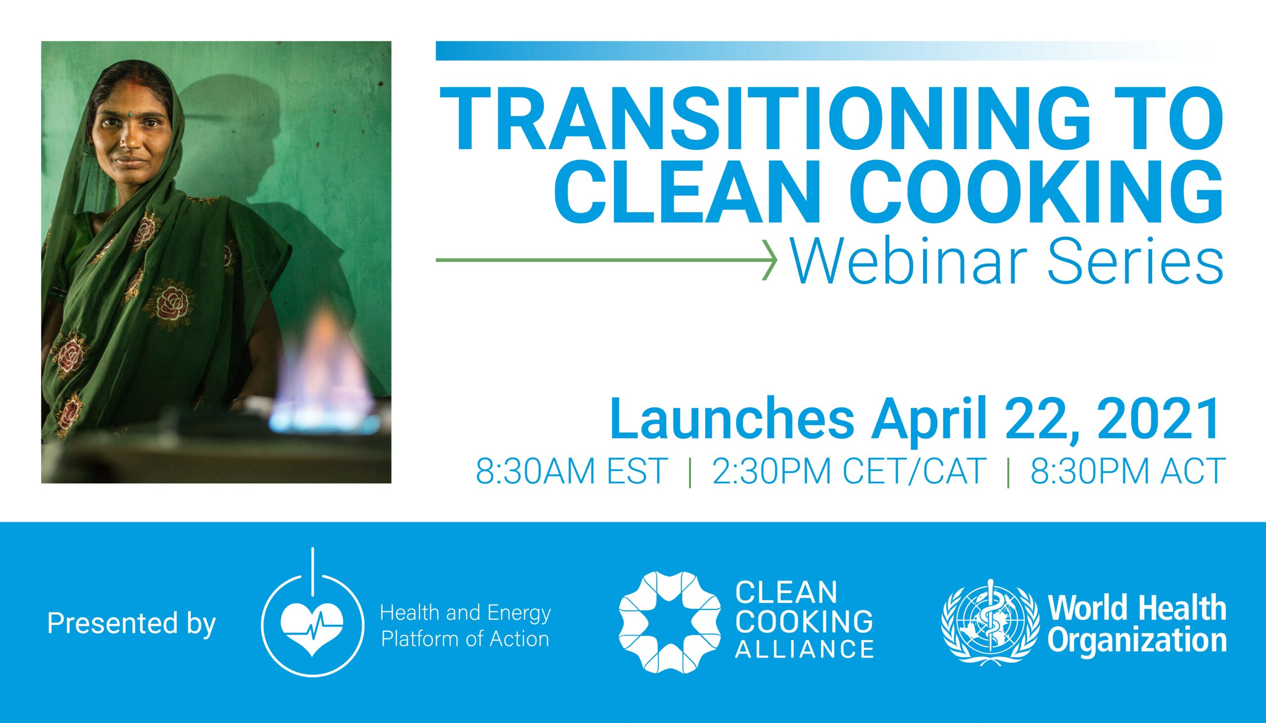 Webinar Series: Transitioning to Clean Cooking