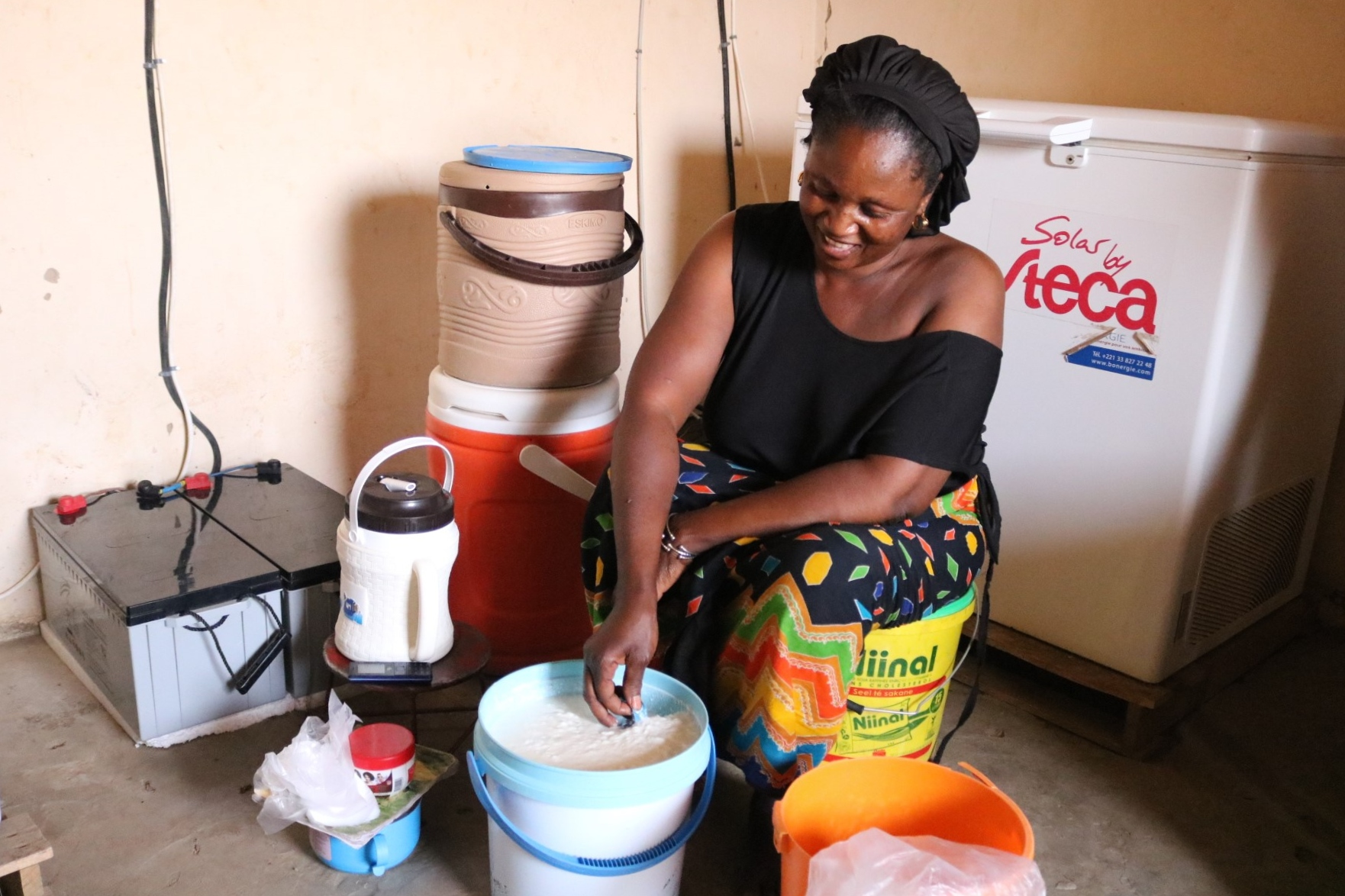 ENERGIA's Covid-19 solidarity fund helps Awa realise her dreams of expansion