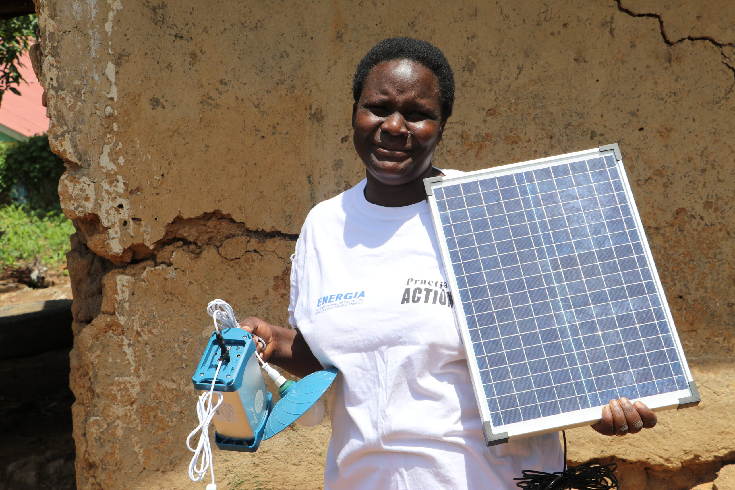 From a farmhand to an independent energy entrepreneur: Everlyne's journey