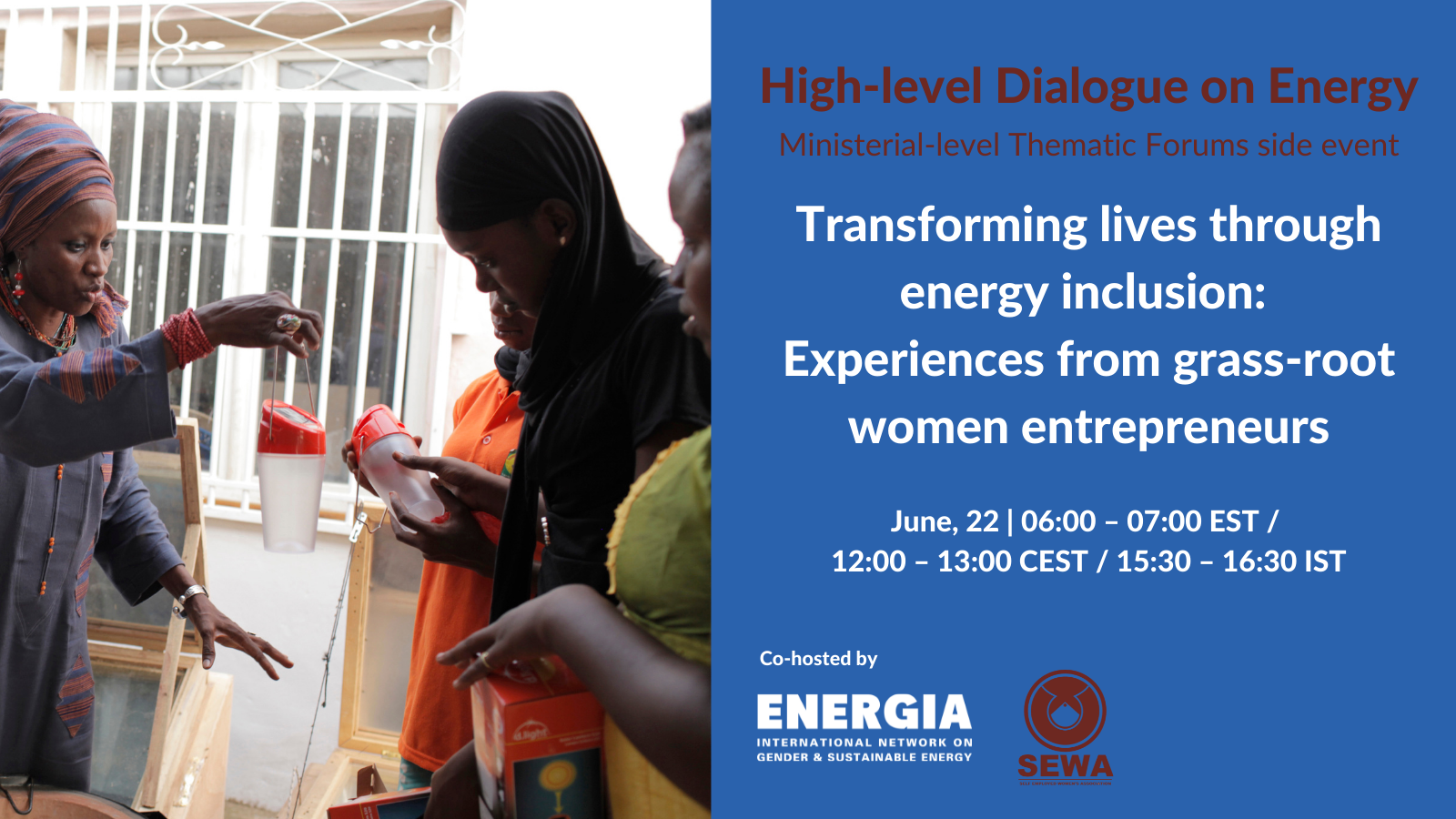 Ministerial-level Thematic Forums side event: Transforming lives through energy inclusion