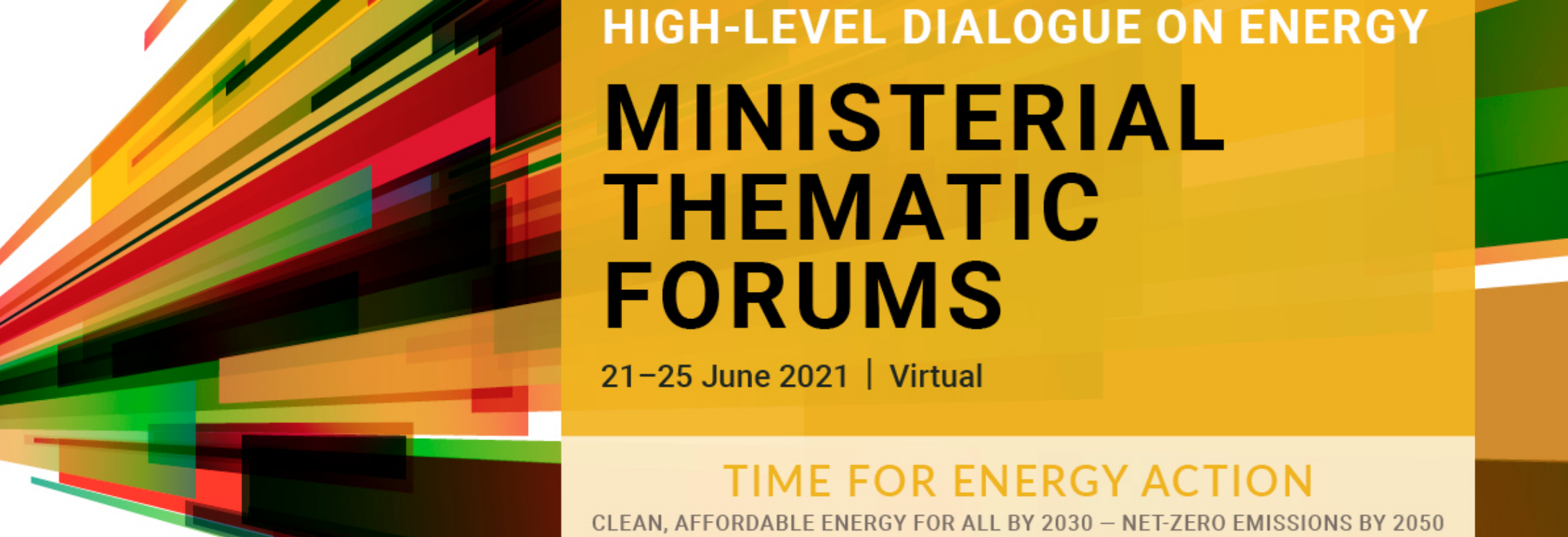 Ministerial-level Thematic Forums: Gender and Energy side events