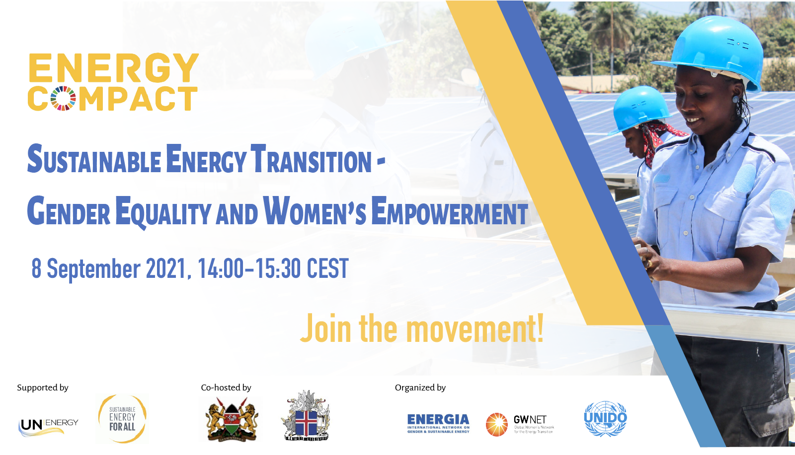 Energy compact on Gender and Energy: Deep-Dive Workshop
