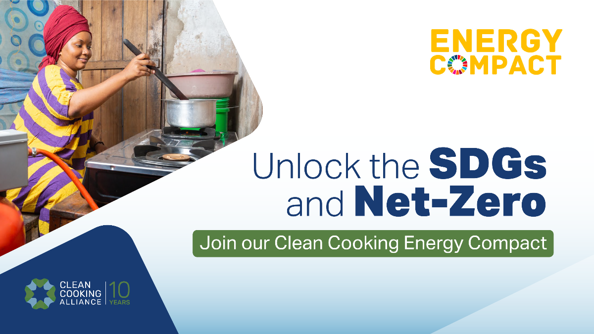 ENERGIA supports the Clean Cooking Energy Compact